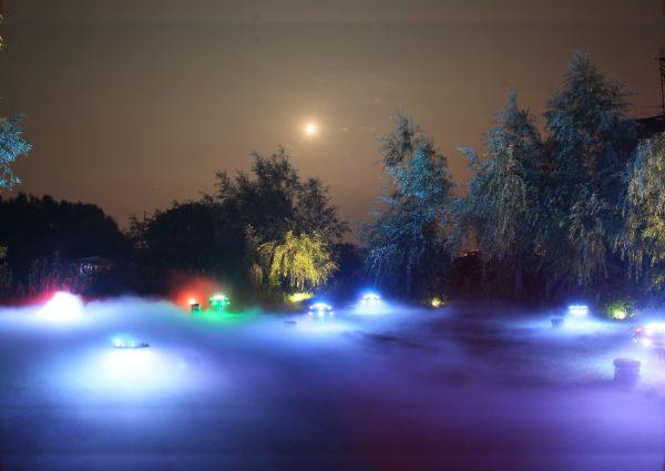 Artifical Fog Fountain Cloud Machine